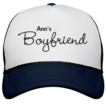 Ann&#x27;s Boyfriend Hat KC Caps Poly-Foam Snapback Trucker Hat