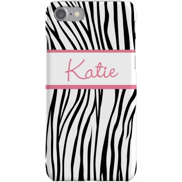 iPhone Case w/Your Name Plastic iPhone 5 Case Black