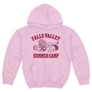Falls Valley Summer Camp Youth Gildan Heavy Blend Hoodie
