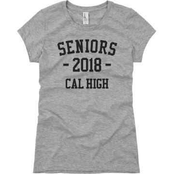 Class Of 2013 Junior Fit Basic Bella Favorite Tee