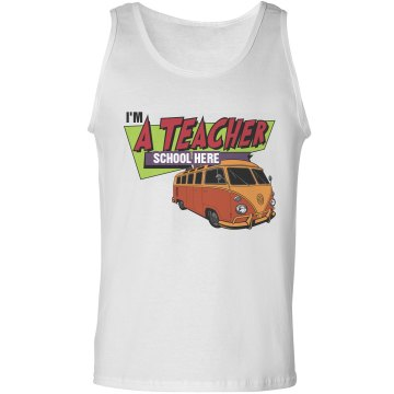 A Teacher From the 80's Unisex Gildan Ultra Cotton Tank Top