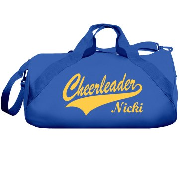 Nikki Cheerleading Bag Liberty Bags Barrel Duffel Bag