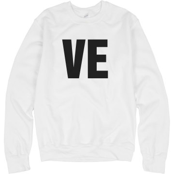 VE Sweatshirt Unisex Hanes Crew Neck Sweatshirt