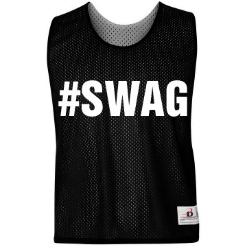 Swag LAX Pinnie Badger Sport Lacrosse Reversible Practice Pinnie