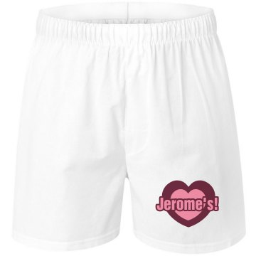 Jerome&#x27;s Valentine Unisex Robinson Boxer Shorts
