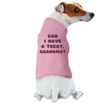 Treat For Grand Dog Doggie Skins Dog Hoodie Tee