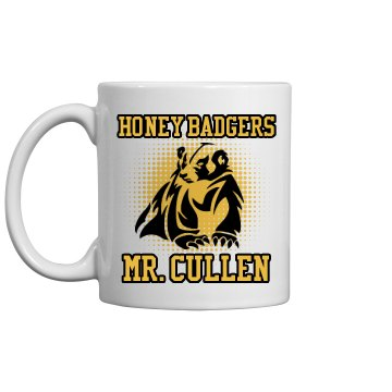 Mr. Cullen Teachers Mug 11oz Plastic Coffee Mug