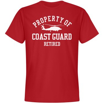 Retired from Coast Guard Unisex Gildan SoftStyle Tee