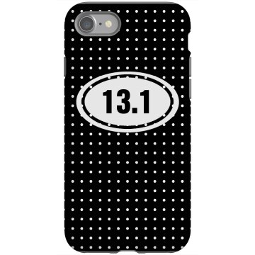 13.1 iPhone Case Rubber iPhone 4 & 4S Case Black