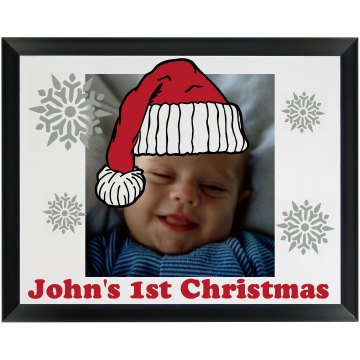 Baby's First Christmas Wood Plaque