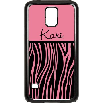 Zebra Samsung Case Rubber Samsung Galaxy S III Case Black