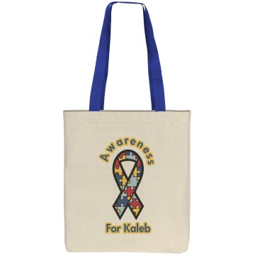 Autism Awareness Liberty Bags Cotton Canvas Tote