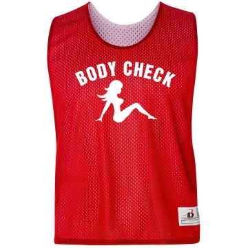 Body Check Lacrosse Tank Badger Sport Lacrosse Reversible Practice Pinnie