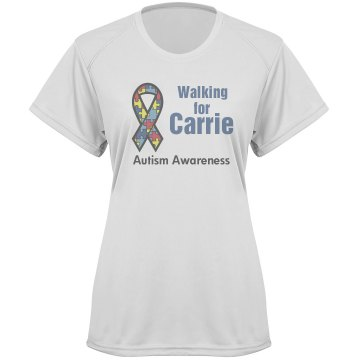 Autism Awareness Walk Tee Paragon Women's Performance Tee