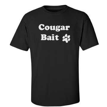 Cougar Bait Unisex Gildan Heavy Cotton Crew Neck Tee