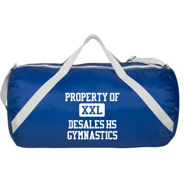 DeSales Gymnastics Augusta Sport Roll Bag