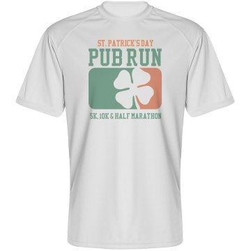 St. Patrick's Day Pub Run Paragon Performance Tee