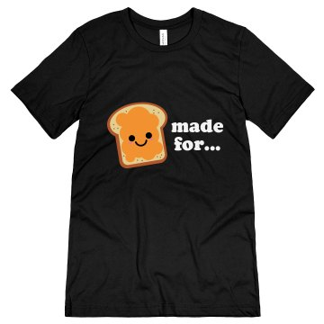 Made For Each Other Unisex Gildan Heavy Cotton Crew Neck Tee