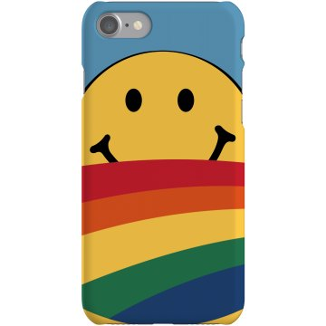 Sun Smile Case Plastic iPhone 5 Case Black