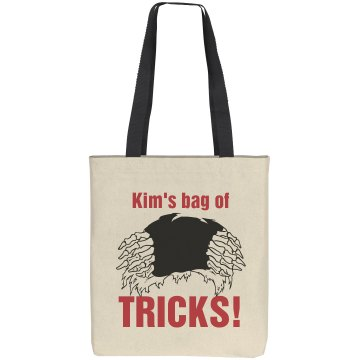 Kim's Trick or Treat Bag Liberty Bags Cotton Canvas Tote