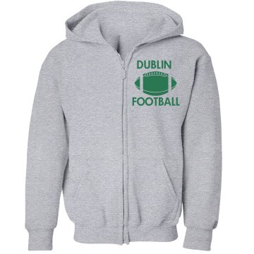 Dublin Football Youth Youth Gildan Heavy Blend Full-Zip Hoodie