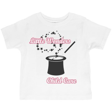 Little Wonders Child Care Toddler Gildan Ultra Cotton Crew Neck Tee