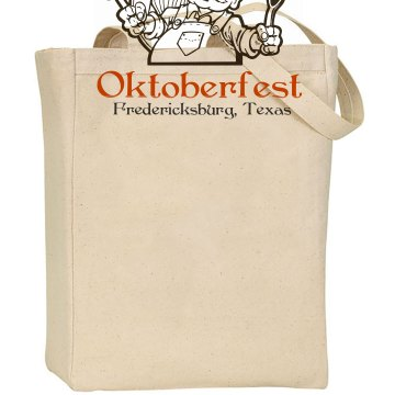 Oktoberfest in Texas Liberty Bags Canvas Tote