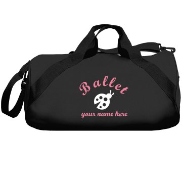 Lady Bug Ballet Bag Liberty Bags Barrel Duffel Bag