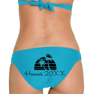 Hawaii Vacation Omni Swimsuit Bikini Bottom