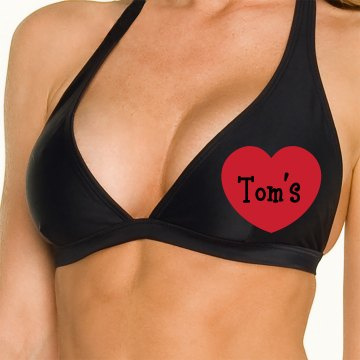 Tom's Beach Babe Omni Swimsuit Halter Top