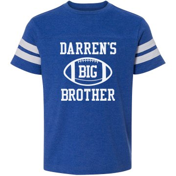 Darren's Big Brother Youth Gildan Ultra Cotton Crew Neck Tee