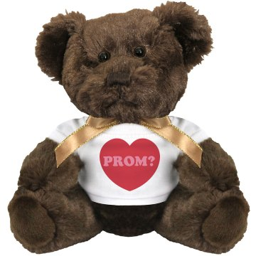 Wanna Go to Prom? Medium Plush Teddy Bear