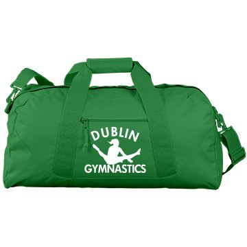 Dublin Gymnastics Port &amp; Company Large Square Duffel Bag