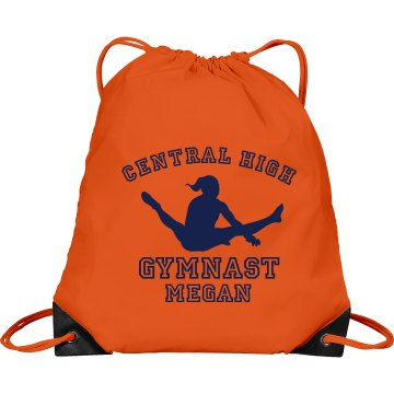 Central High Gymnast Champion Mesh Gear Bag