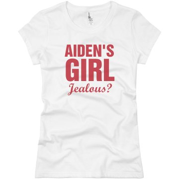 Aiden&#x27;s Girl Junior Fit Basic Bella Favorite Tee