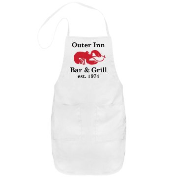 Bar & Grill Port Authority Adjustable Full Length Apron