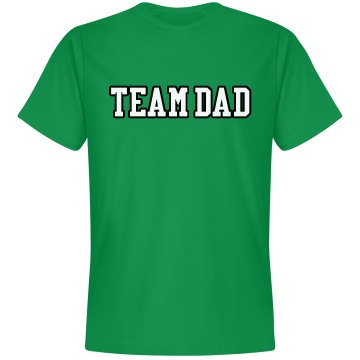 Team Dad Tee Unisex Gildan Heavy Cotton Crew Neck Tee