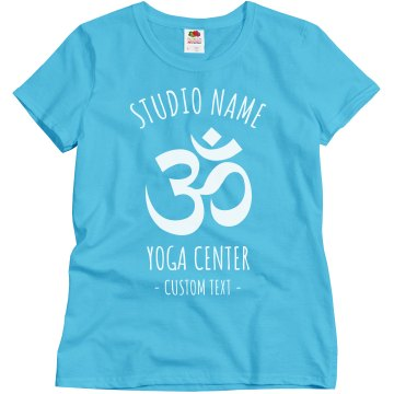 Midwest Yoga Business T Junior Fit Bella Sheer Longer Length Rib Tee