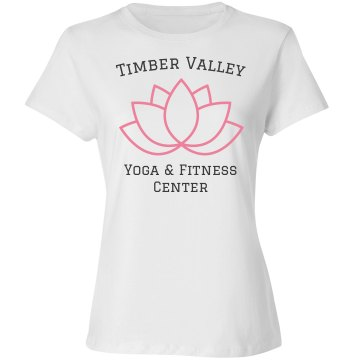 Timber Valley Yoga T Misses Relaxed Fit Basic Gildan Ultra Cotton Tee