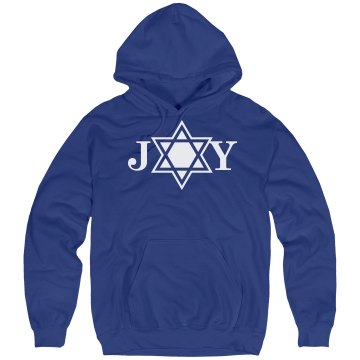 Hanukkah Joy Unisex Hanes Ultimate Cotton Heavyweight Hoodie
