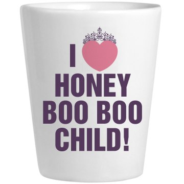 Honey Boo Drinking Game Ceramic Shotglass