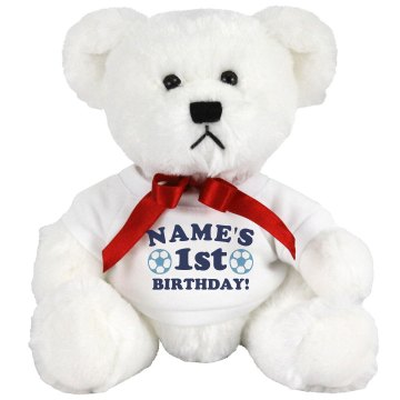 Birthday Bear Medium Plush Teddy Bear