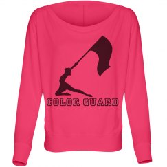 Color guard hoodies