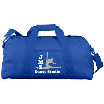JMS Dance Port & Company Large Square Duffel Bag