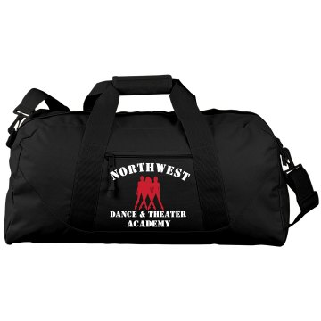 Northwest Dance Academy Port & Company Large Square Duffel Bag