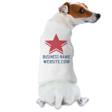 Furry Insurance Billboard Doggie Skins Dog Ringer Tee