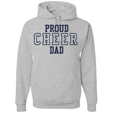 Cheer Dad Unisex Hanes Ultimate Cotton Heavyweight Hoodie