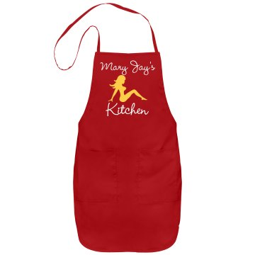 Mary Jay's Kitchen Apron Port Authority Adjustable Full Length Apron