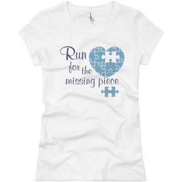 Missing Peice Junior Fit Basic Bella Favorite Tee