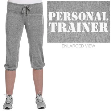 Personal Trainer Pant Junior Fit Bella French Terry Lounge Pants